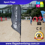 2016 Hotsale Custom Flying Beach Flag Banners e Feather Flag