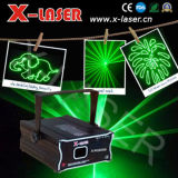 iluminación verde del acontecimiento de la animación de la luz laser 100mw
