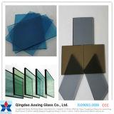 Vetro riflettente di Toughed/isolato colore per il vetro della costruzione con Ce