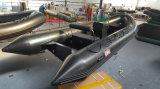 barco inflável de 5.2m, barco do reforço, barco de pesca, PVC ou barco Rib520A do esporte de Hypalon com casca de alumínio