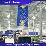 Coutume respectueuse de l'environnement d'impression de Digitals annonçant le drapeau s'arrêtant de tissu