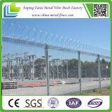 Frontière de sécurité de garantie galvanisée de la montée 358 de fil de frontière de sécurité anti