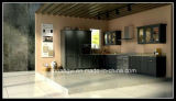 Gabinete de cozinha barato Prefab do projeto moderno do preço de China