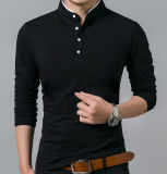 Chine Wholesale Custom Plain Cotton Men Polo