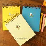 Agenda spiralé d'école de Notebook/PU/cahier de papier de bureau
