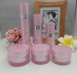 De acryl Kosmetische die Reeks van de Verpakking van de Kruik/van de Fles van de Room in Ningbo (ppc-cps-020) wordt gemaakt