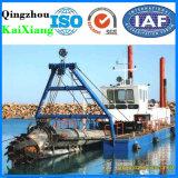 Customerized 300m3/H完全な油圧カッターの吸引の砂の浚渫船