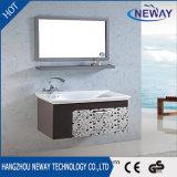 Modules de bassin de salle de bains d'acier inoxydable de qualité avec le miroir