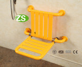 Antideslizante montado en la pared Disable Shower Chair Handicap Bathroom Seat