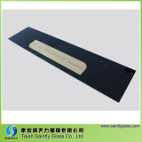 vidro da porta do forno da alta temperatura de 3.2mm 4mm 5mm com impressão da tela de seda