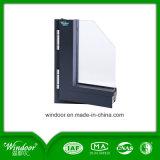 오프닝 알루미늄 여닫이 창 Windows 안쪽에 두 배 창유리