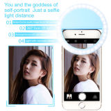 Lumière universelle de boucle de Selfie de cercle de DEL pour le téléphone cellulaire mobile