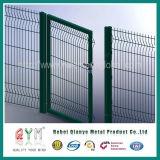 Покрынный Galvanized/PVC строб загородки загородки сваренной сетки