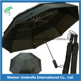 Vent Proof를 가진 선전용 Gift Durable Quality 2 Fold Golf Umbrella