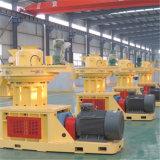 Вертикальная машина продукции лепешки биомассы прессформы кольца