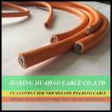 16mm2 25mm2 35mm2 50mm2 70mm2 95mm2 Heavy Duty Витой медный проводник ПВХ куртка сварочный кабель