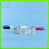 De nieuwe 50ml 60ml Kruik van Bottl van het Glas van de Room van de Kruiken van het Glas Duidelijke Kosmetische Kosmetische Verpakkende
