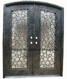 Disegno diritto del ferro di Wought con il portello di entrata anteriore dei Sidelights
