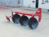 Charrue à disques ronde de pipe de tracteur d'instrument de préparation de terre de ferme à vendre