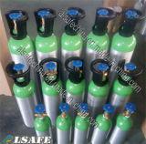 Tamanhos de série de alumínio do tanque de oxigênio de Alsafe