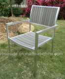 Cadeira de jantar de madeira poli para o espaço ao ar livre