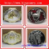 Boucle occidentale de boucle de rouleau de la boucle de cowboy de mode en vrac de courroie de l'homme occidental en alliage de zinc de boucle