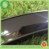 Металлический лист черного цвета зеркала Ss 304 стальной с дешевым ценой