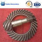 Il circuito di collegamento degli ingranaggi conici di spirale del migliore venditore BS0390 innesta 8/35 di ingranaggio conico elicoidale differenziale automatico