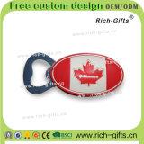Подгонянные магниты Канада холодильника выдвиженческих подарков мягкие резиновый (RC-CA)