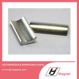 De super Sterke N35 Permanente Magneten van NdFeB van de Motor van het Segment van de C
