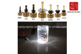 Farol H1/H3/H7 do auto diodo emissor de luz da motocicleta e do carro do bulbo do farol do diodo emissor de luz