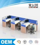 Estação de trabalho modular moderna da divisória do escritório
