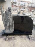 [شنس] صوان رخام شاهد القبر نصب (ملاك وقلب)