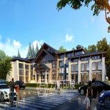 高レベルの住宅3D建築視覚化のレンダリング
