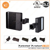 UL Listed Dlc IP65 al aire libre 100W LED Área de Carreteras Luces