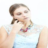 El nuevo cristal de los granos negros del diseño empiedra el pendiente de la pulsera del collar de la joyería de la manera