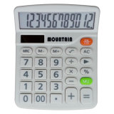 12 dígitos Dual Power Desktop Calculator con Tilted Screen (LC236)