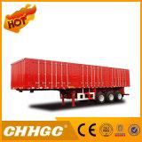 Tri-Radachse 40-80 Tonne Van-Typ Ladung-Sattelschlepper