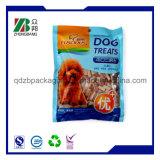 Sacchetto impaccante di plastica dell'alimento per animali domestici del cane con la chiusura lampo