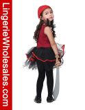 Costume рубашки балетной пачки Cosplay пирата Halloween малышей для девушок