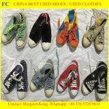 Die grosse Größe u. Hotest vollständigen die Verkäufe der verwendeten Schuhe für afrikanischen Markt (FCD-005)