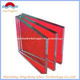 Verniciatura architettonica decorativa verniciata parte posteriore di vetro laminato
