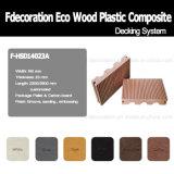 Composto plástico de madeira do revestimento ao ar livre de Eco