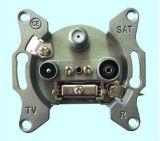 5-2400MHz de Contactdoos van de Muur van TV (shj-TWS002)