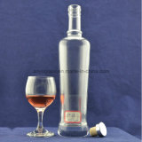 Freie runde Whisky-Flaschen-Eis-Wein-Glasflasche der Glasflaschen-500ml