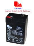 la soupape 6V2.8ah a réglé la batterie d'acide de plomb d'UPS de jouets
