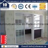 ガラスおよび装飾的な錬鉄のグリルデザインの内部ドア