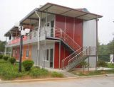 Casa prefabricada de la casa prefabricada de la estructura de acero para el OEM