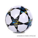 Esfera Sewing do futebol/futebol da máquina do tamanho 5 do PVC para o esporte ao ar livre