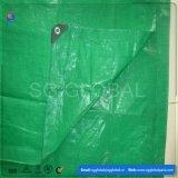 6*12 grünes HDPE überzogenes wasserdichtes Tarps
